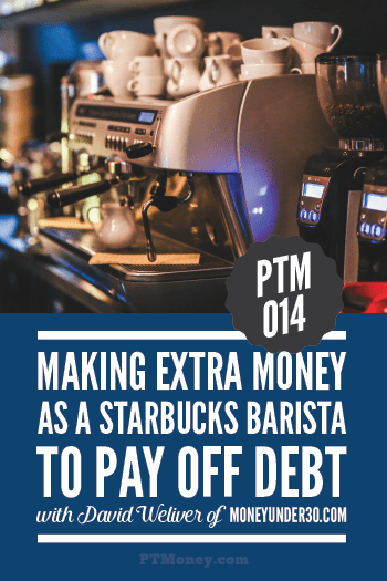 In this podcast, PT talks to David about his part-time job at Starbucks. He took on this side hustle on the weekends to pay off debt. Find out why Starbucks was the right choice for him and if it could work for you!