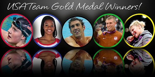 Olympic Gold Medal Winners Halloween Costume Idea