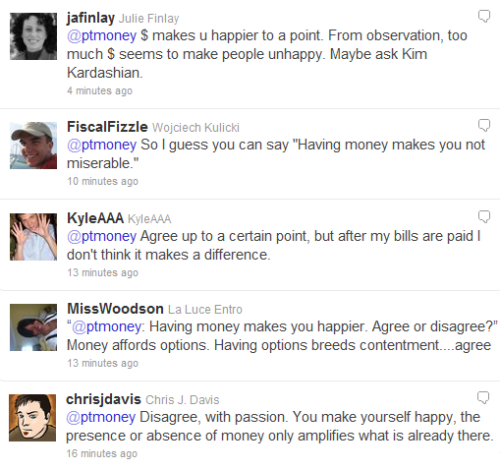 Money Makes You Happier Twitter