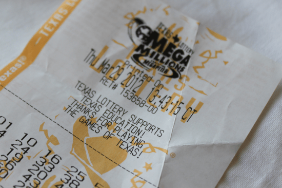 Lottery Ticket Mega Millions