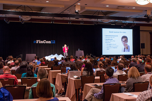 The Main Stage at FinCon12