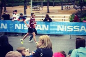 Sam Lustgarten Running Race