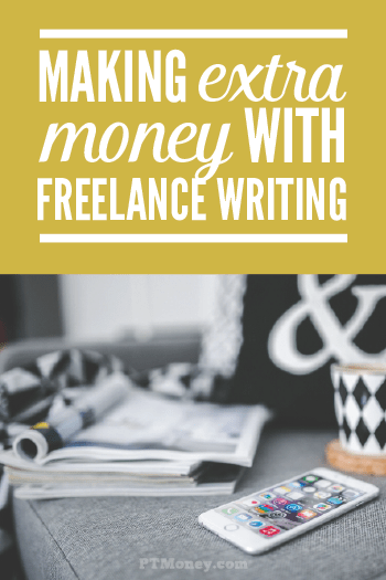 Check out PT's interview with Debbie. Debbie is a freelance writer and entreprenuer. She answers a lot of questions you may have about freelance writing and what kind of money you can make doing it. See if this is the way for you to get extra cash flow today.