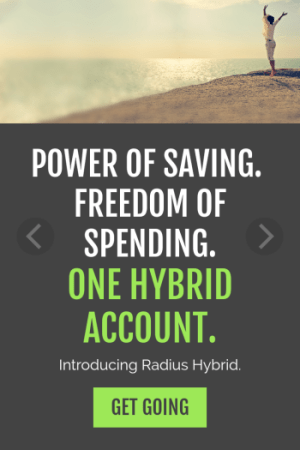 Radius Bank Hybrid Checking Account Review