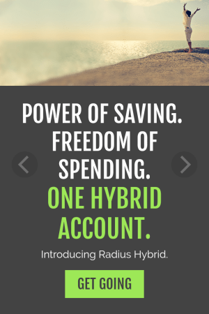 Radius Bank Hybrid Checking Account Review
