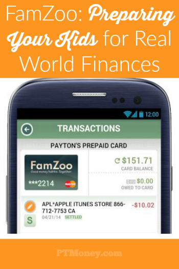 FamZoo's website and app introduces children to the realities of banking, saving, investing, spending, debt, and money management through a virtual family bank. The program is easy-to-use, flexible, and can easily be tailored to your family's particular needs and values.