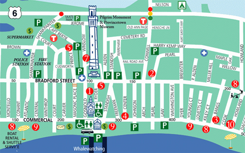 Provincetown Map - Provincetown Chamber of Commerce, Inc