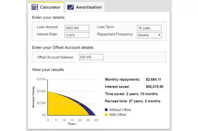 Interest account calculator