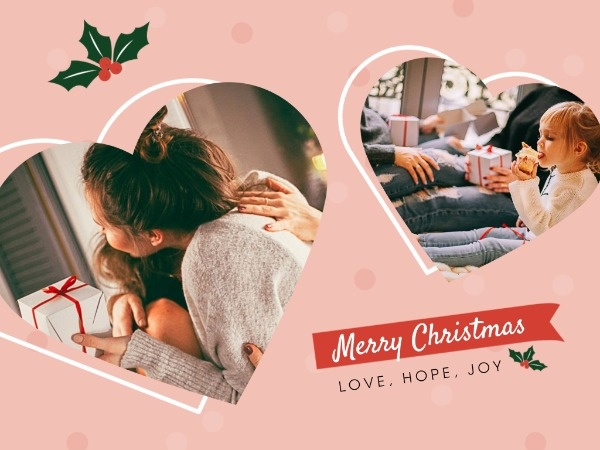 online photo christmas card maker