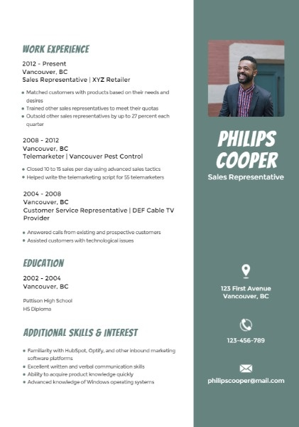 Creative Resume Builder \u2013 Design Outstanding Personalized Resumes