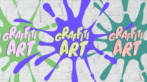 Graffiti Art YouTube Banner Maker \u2013 Create YouTube Channel Art