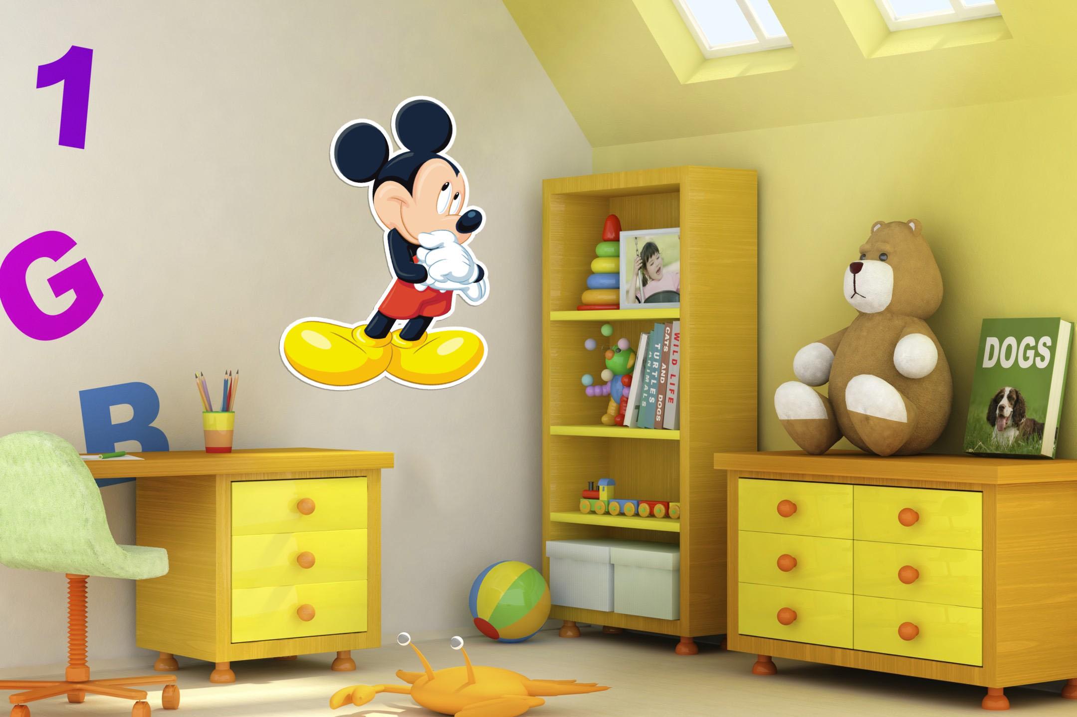 Stickers Cameretta Disney : Adesivi da parete disney minions adesivo quadrotti adesivi da