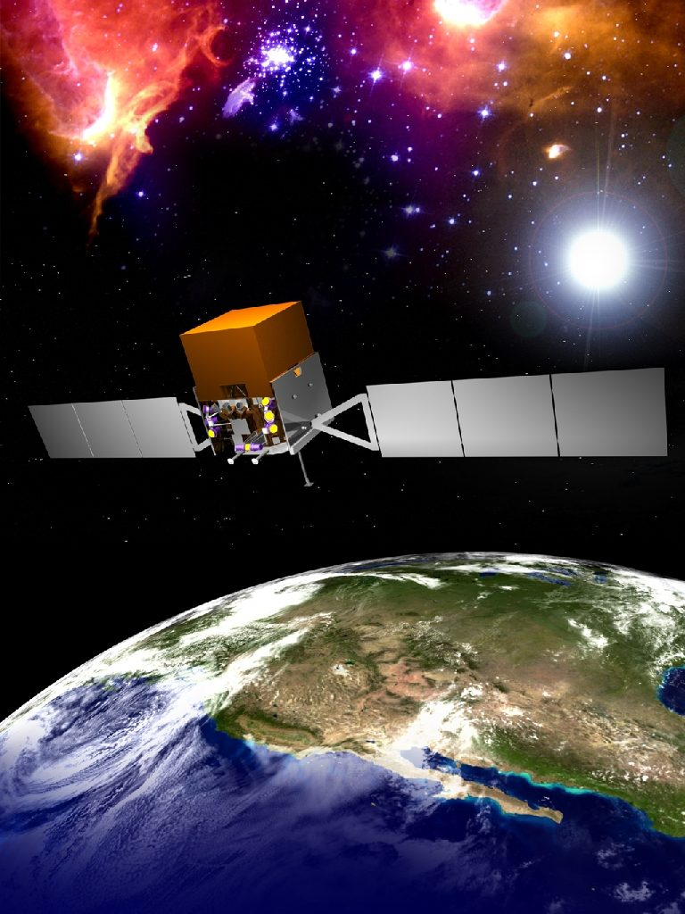 Gamma Glas Nrao Teams With Nasa Gamma Ray Satellite National Radio