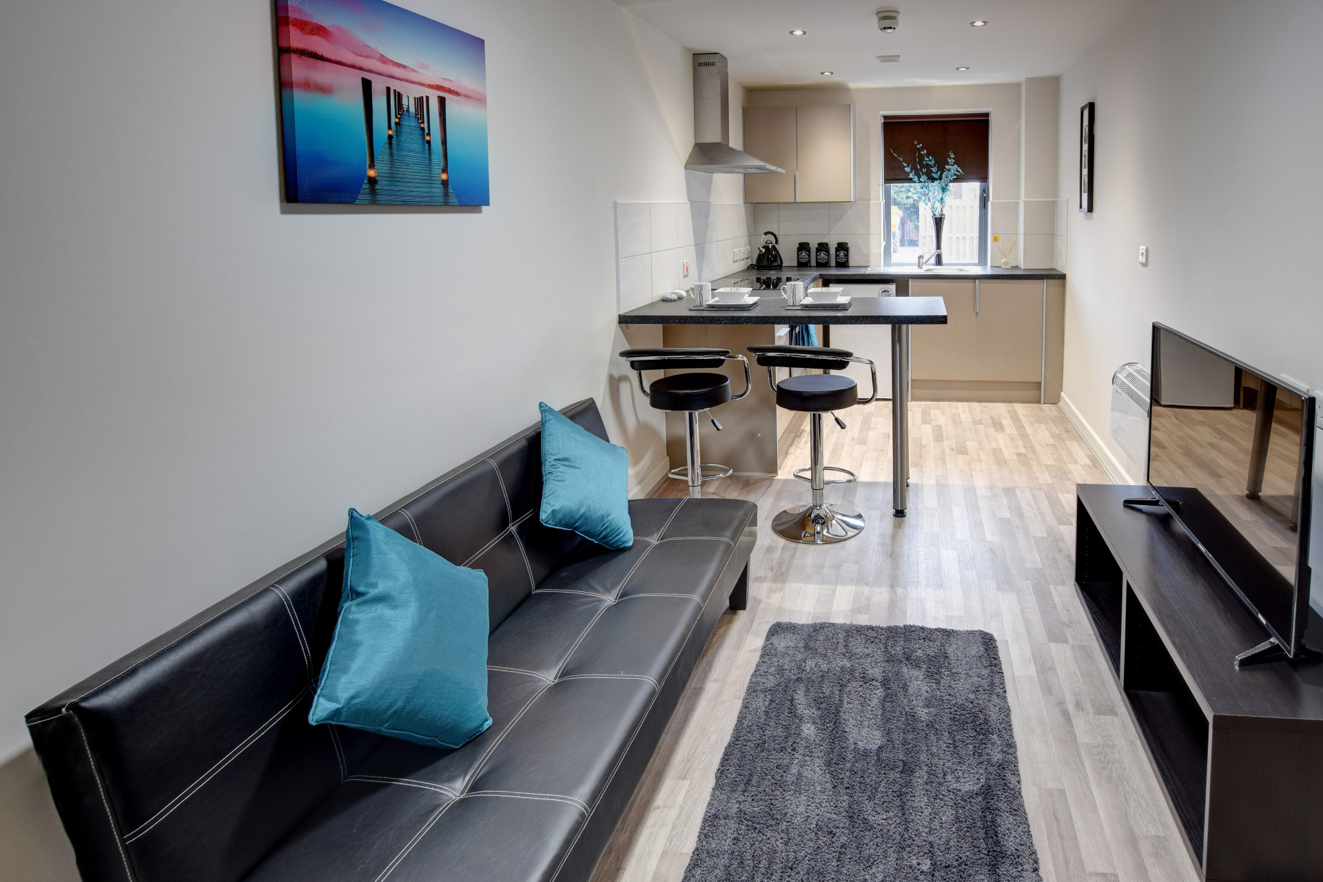 One Bed Flat Leeds 1 Bed Student Flat In Leeds Apartment Holborn Approach Sturents