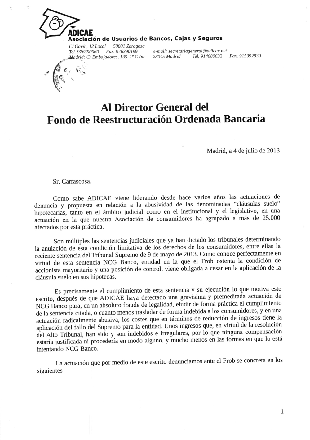 Adicae Simulador Clausula Suelo Blog Posts Ccss Prestamos Vivienda Requisitos