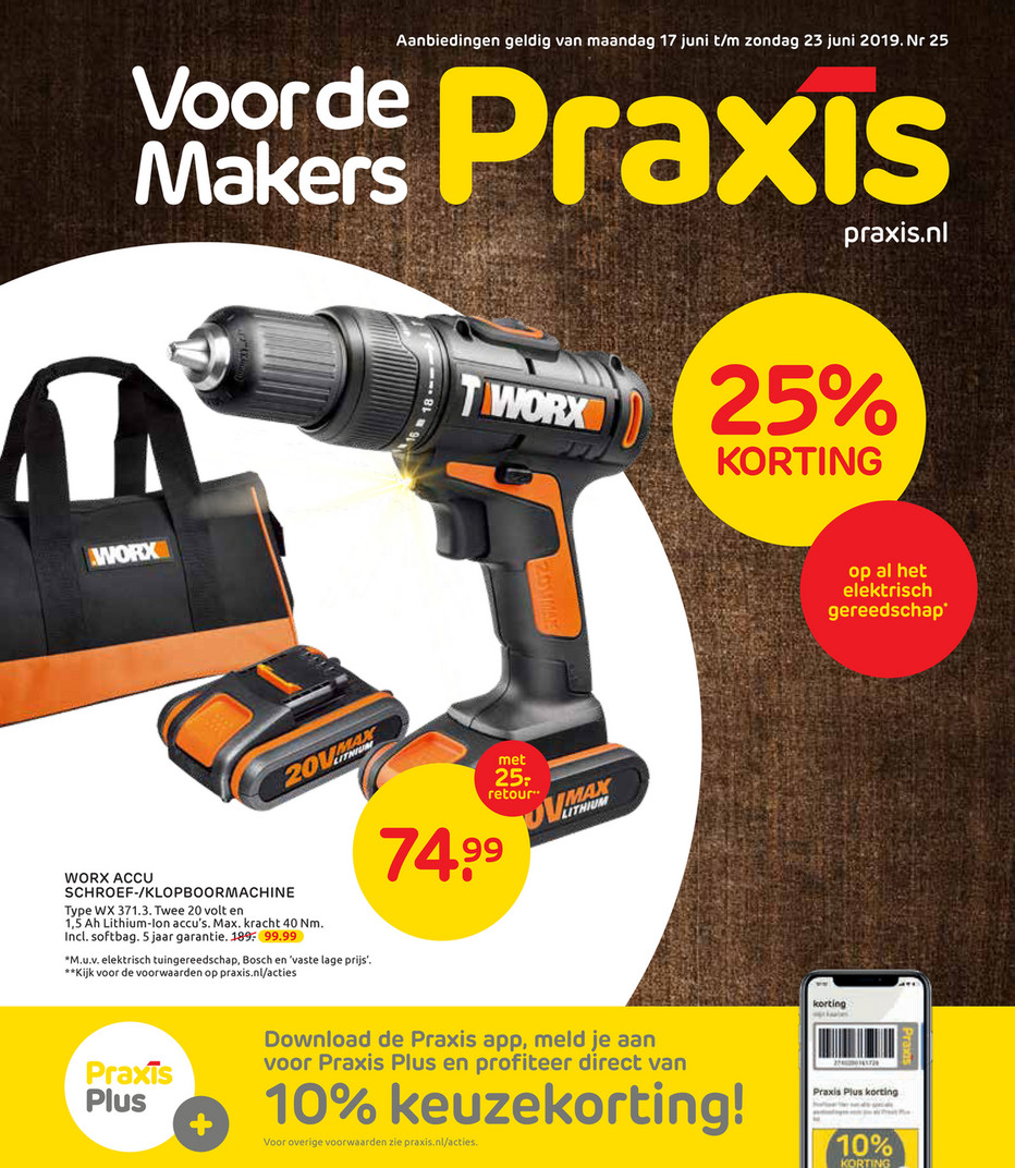 Flexa Strak In De Lak Aanbieding Praxis Praxis Folder Folder Week 24 2019 Pagina 1