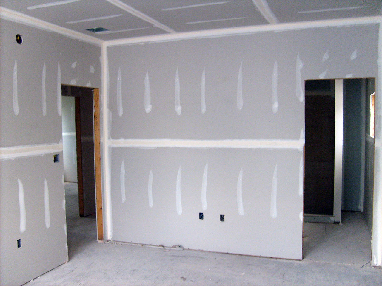 Gratis Drywall Cost To Install Drywall In A Single Room - Estimates And