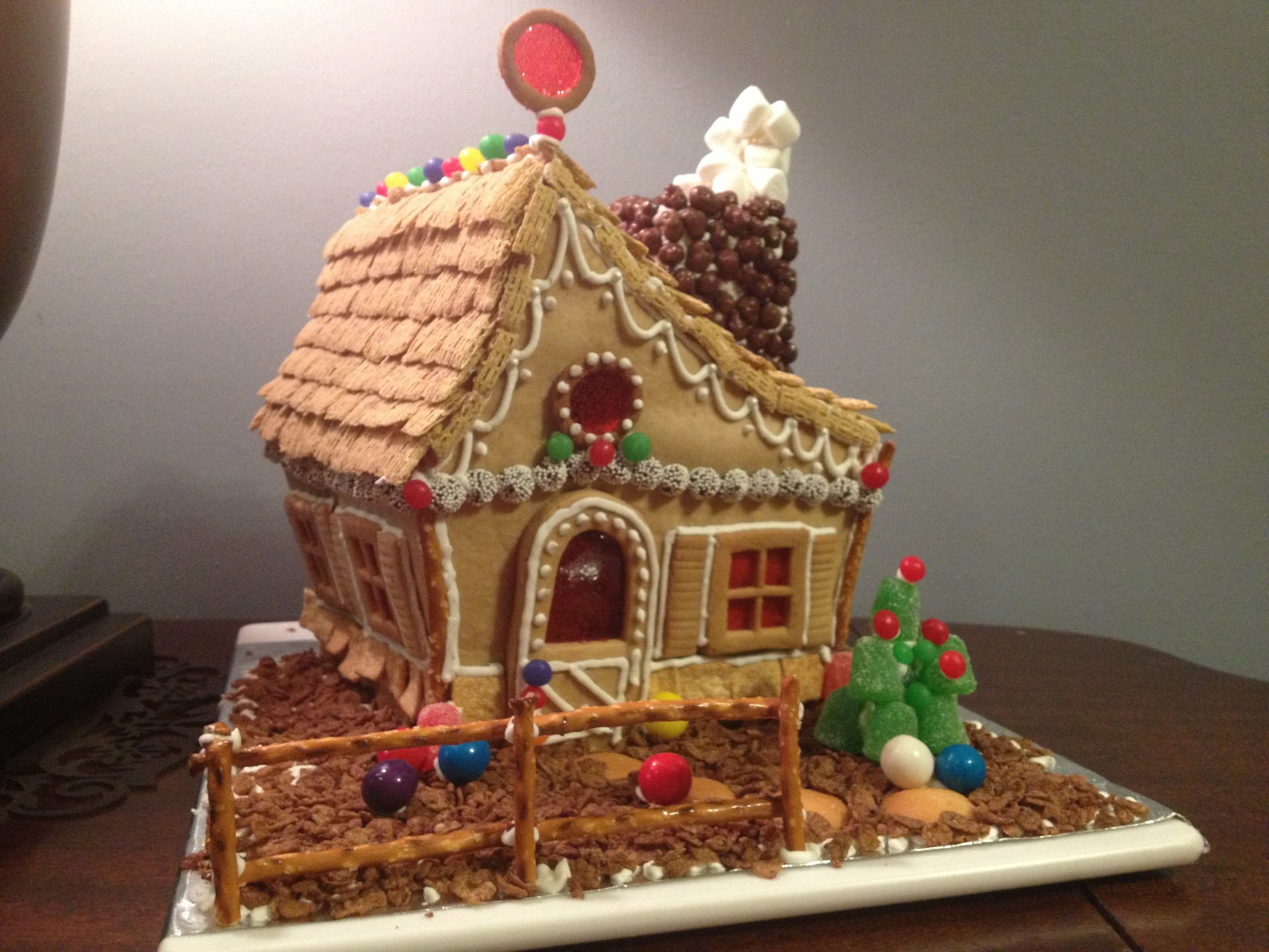Winter Wallpaper For Iphone 4 Gingerbread House Free Stock Photo Public Domain Pictures