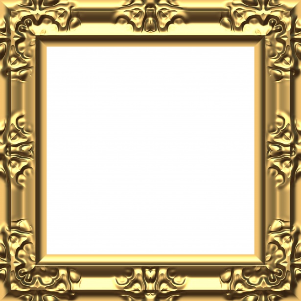Cadre Design Golden Baroque Frame Free Stock Photo - Public Domain Pictures