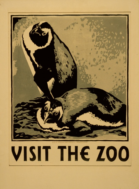 Premium Poster Vintage Zoo Poster Free Stock Photo - Public Domain Pictures