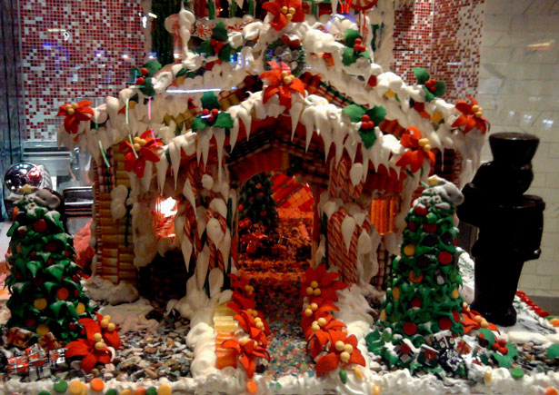 Stock Image Hd Free Christmas 2011 Gingerbread House Free Stock Photo Public