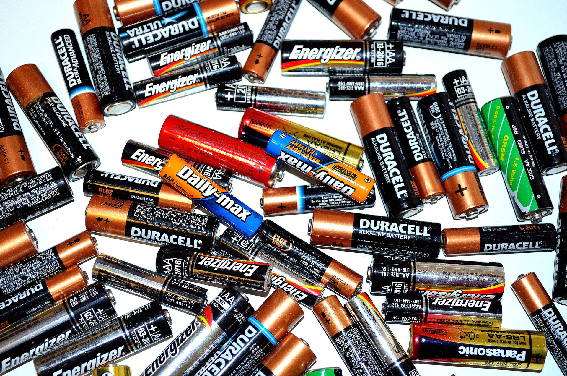 Aa Batterien Battery Recycling Free Stock Photo Public Domain Pictures