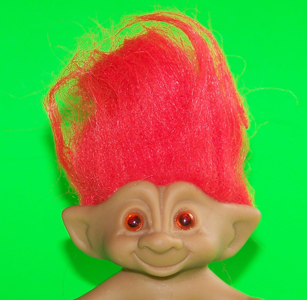 Trolls Bettwäsche Orange Haired Troll Free Stock Photo Public Domain Pictures