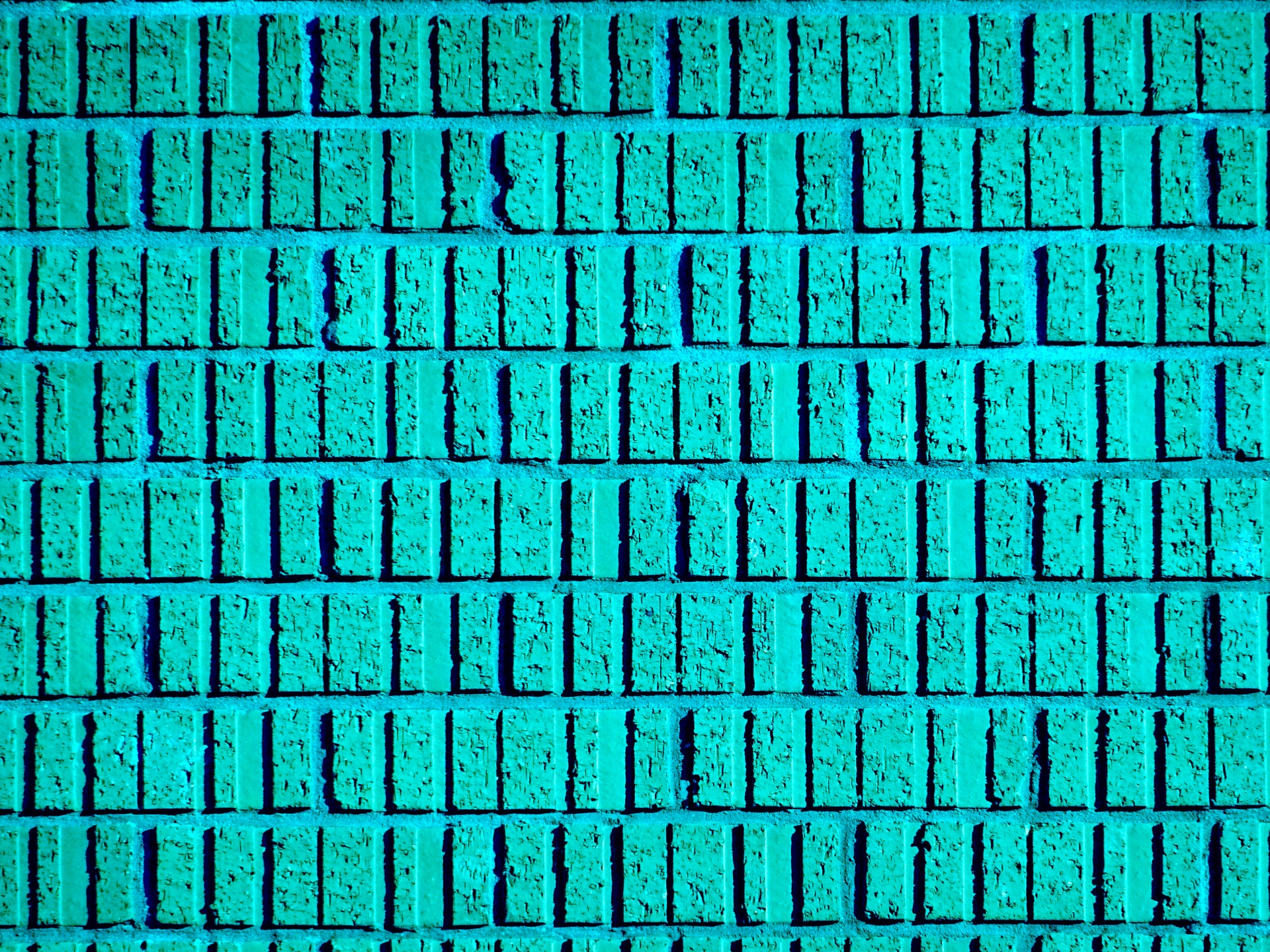 Turquoise Brick Wallpaper Turquoise Brick Wall Background Free Stock Photo Public