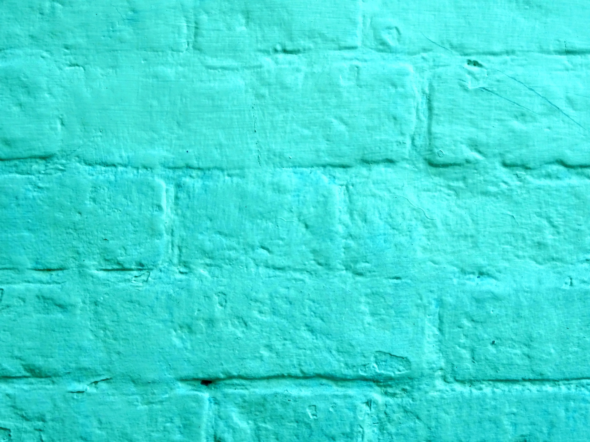 Turquoise Brick Wallpaper Turquoise Painted Brick Wall Free Stock Photo Public