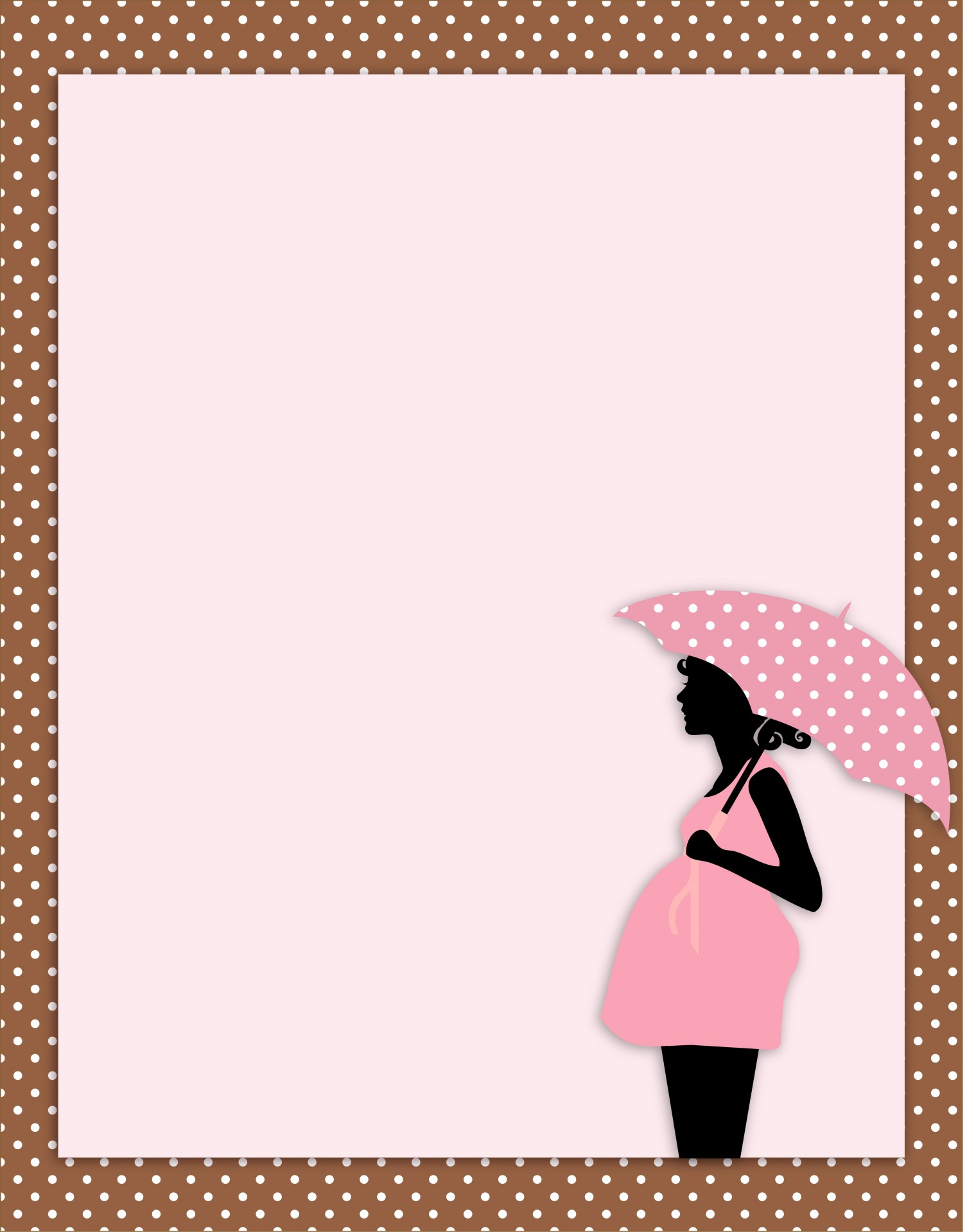 Fingerabdruck Baby Baby Shower Card Template Free Stock Photo Public Domain