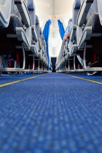 Aeroplane Fly Aisle In A Plane Free Stock Photo - Public Domain Pictures