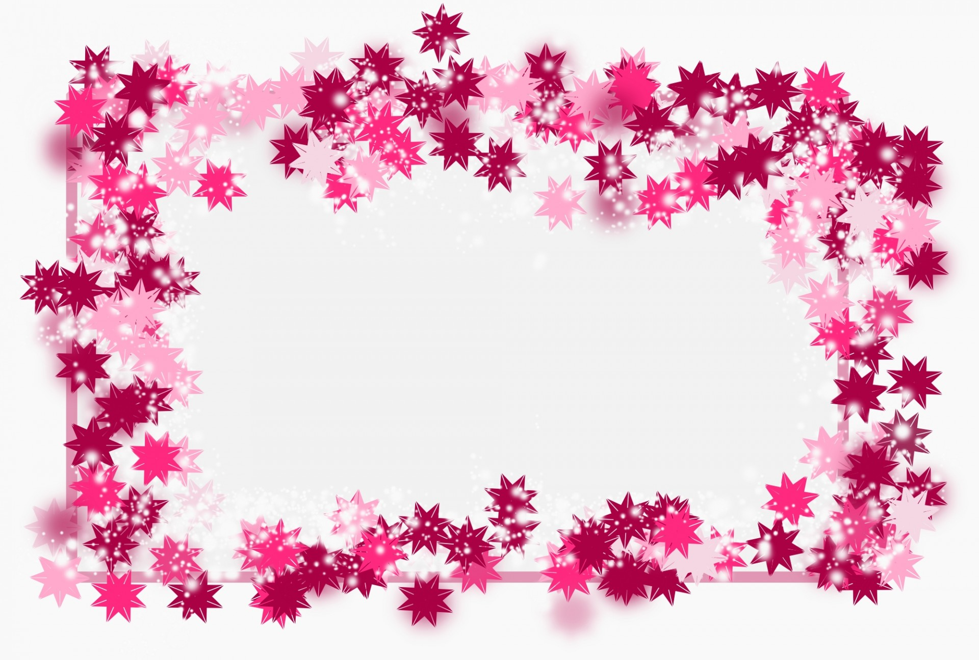 Invitation Card Edit Online Pink Flower Blank Frame Free Stock Photo - Public Domain