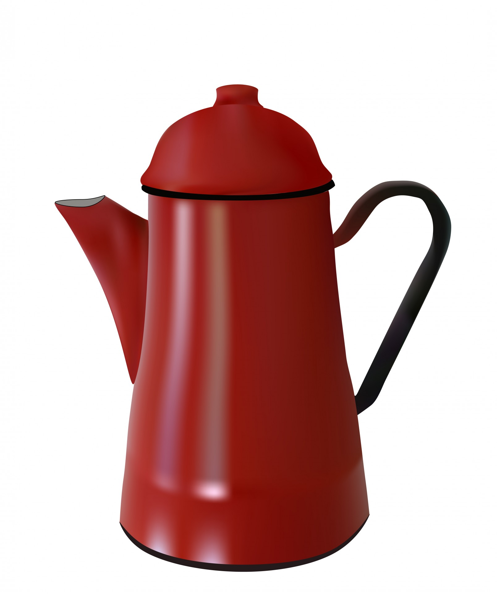 Coffee Pot Planter Red Coffee Pot Clipart Free Stock Photo Public Domain