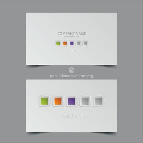 Business cards vector layout 10 Public domain vectors