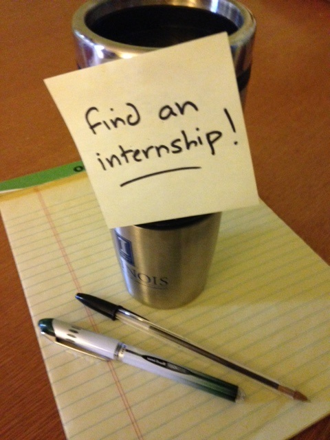 Starting Your Search for Spring or Summer Internships Making the