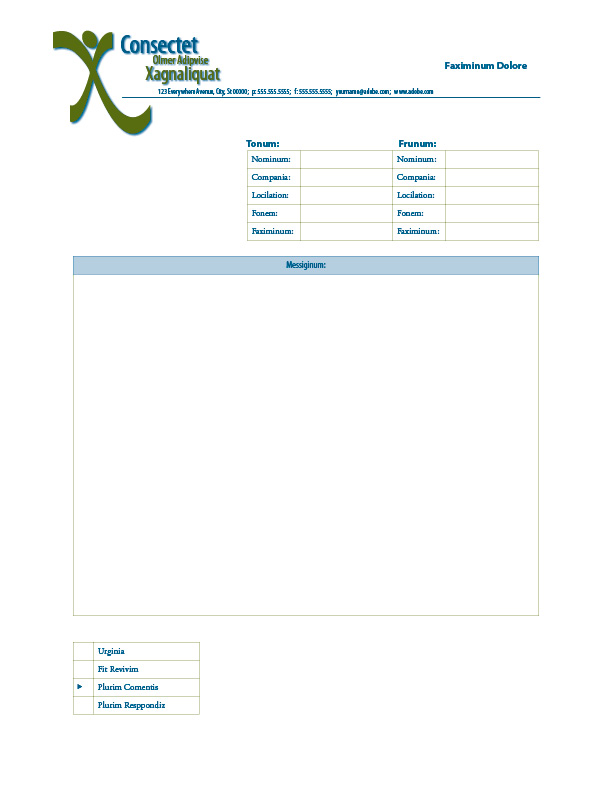 Free InDesign Form Templates - InDesignSecrets  InDesignSecrets