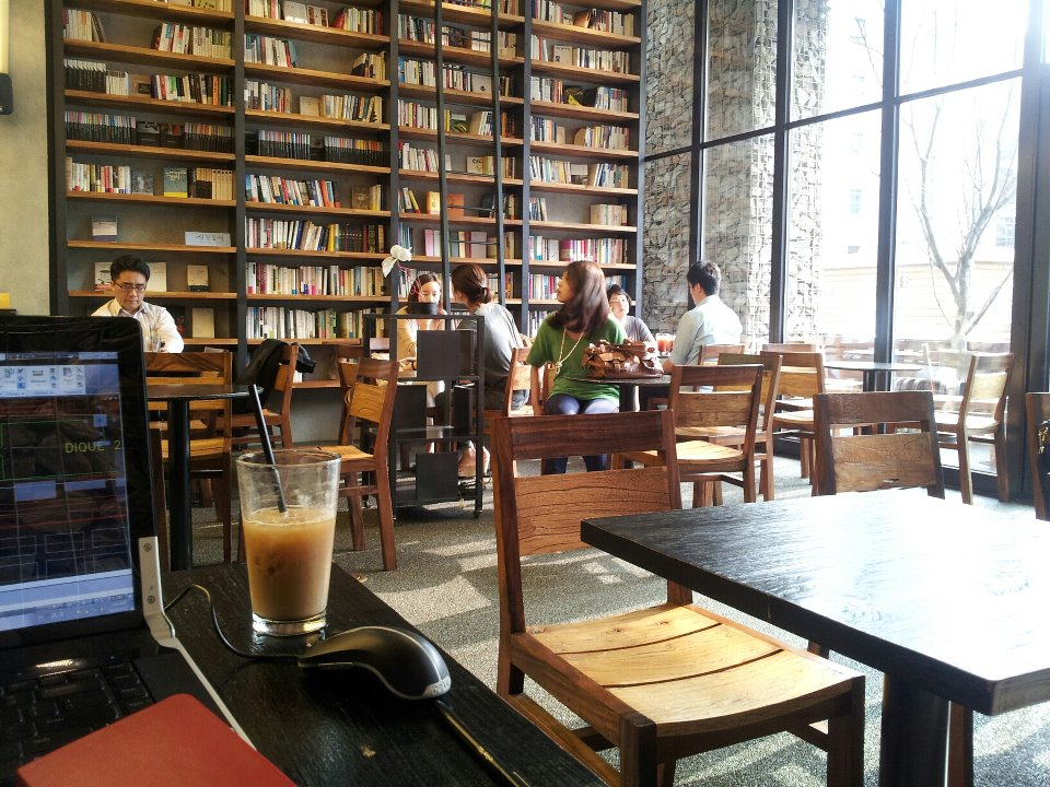 Should Publishers Open Bookstore Cafes They Are In Korea