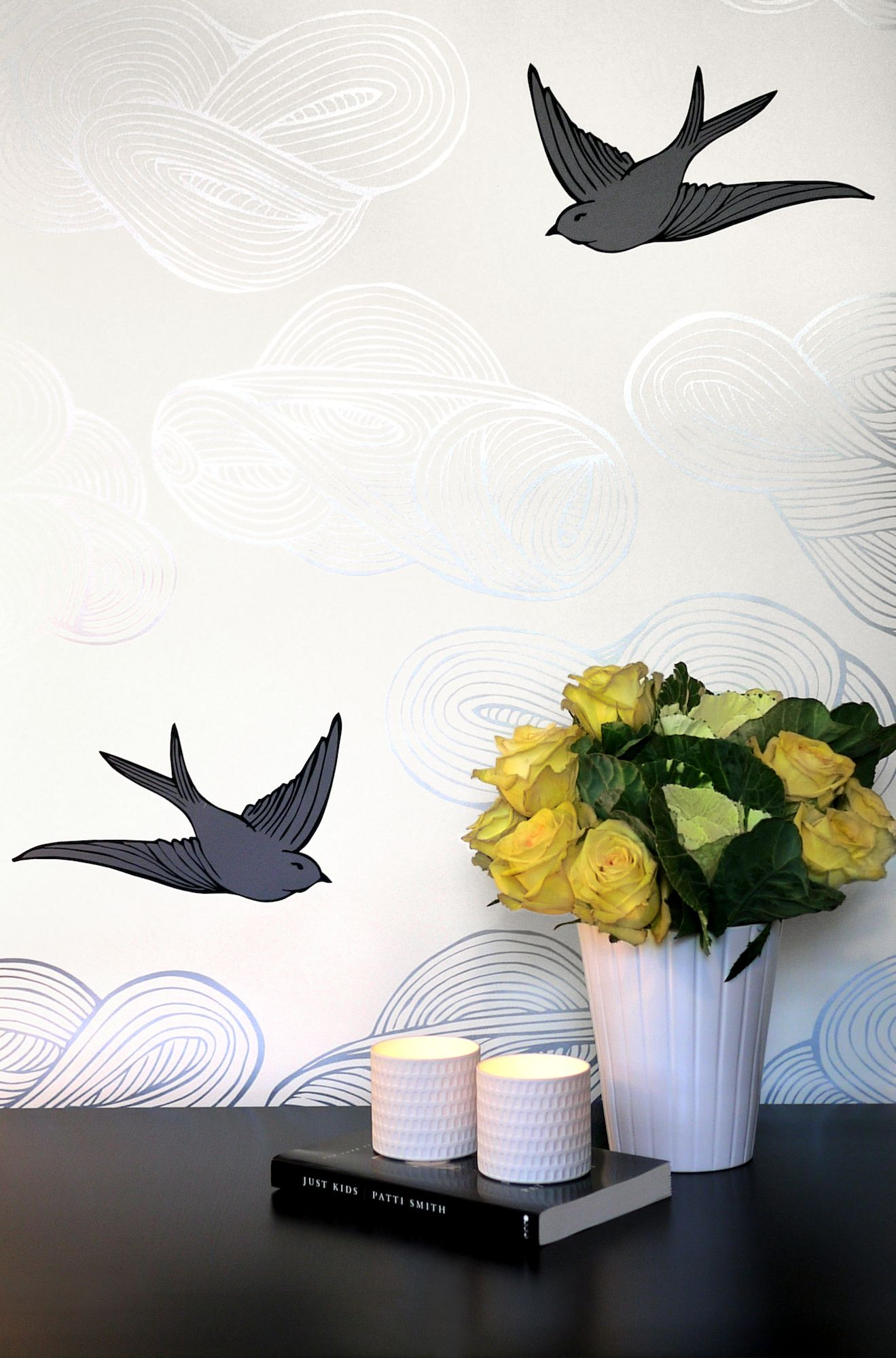 When Art and Wallpaper Collide | Puddingstone Post