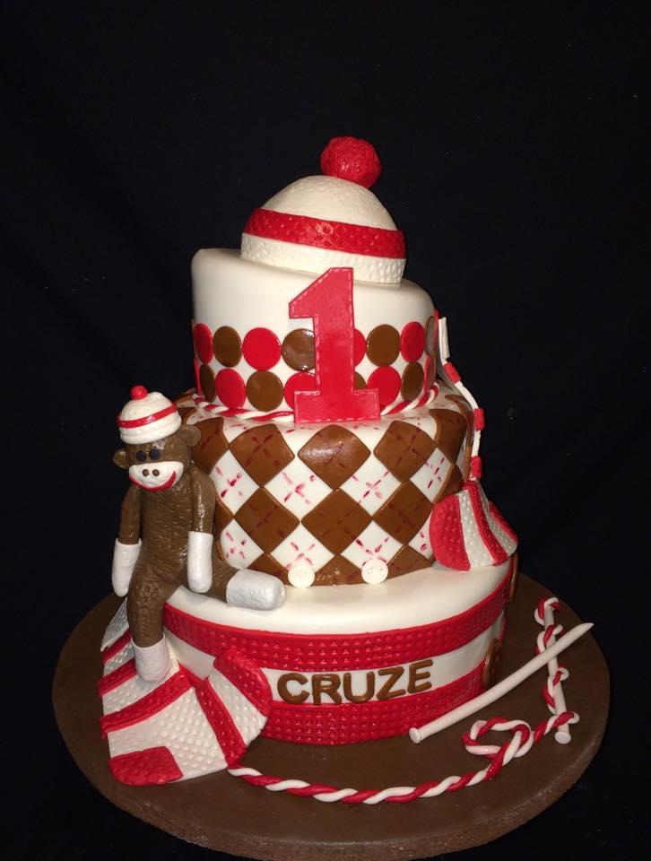 Baby's 1st Birthday Cakes