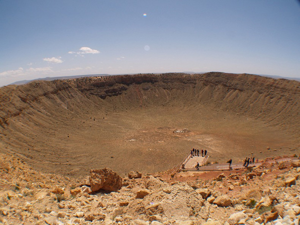 Crater Barringer Arizona