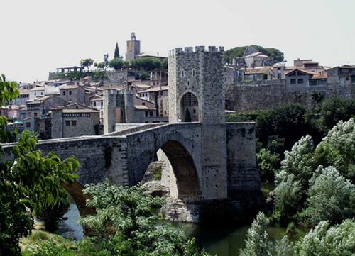 Besalú, Girona, Cataluña