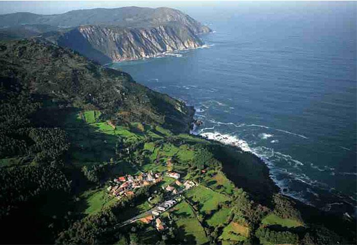 San Andrés de Teixido en Galicia