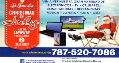 La Familia Christmas in July