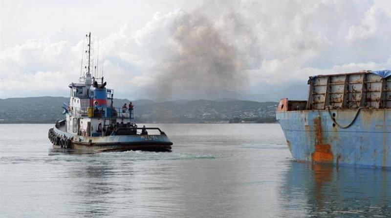 Parte desde Ponce barcaza con ayuda para haitianos afectados por Matthew
