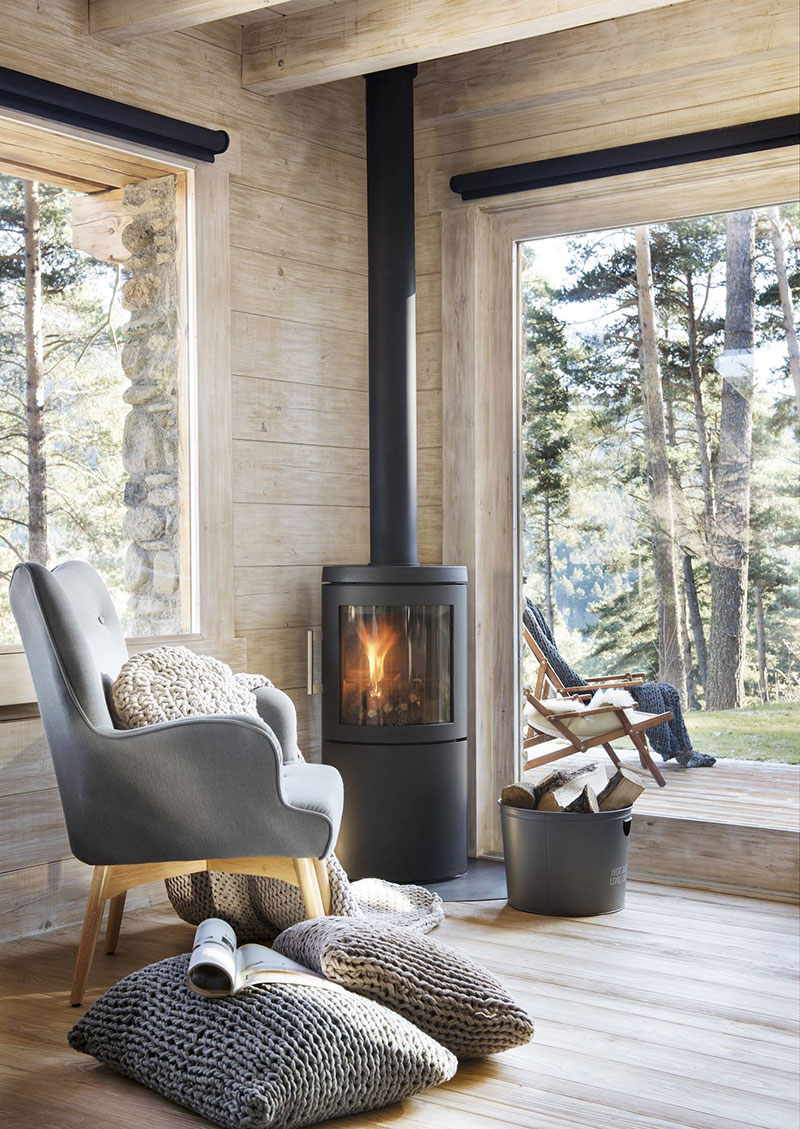 Fireplace Ibiza Kaminofen 16 Cozy Interiors With A Fireplace Photos Ideas Design