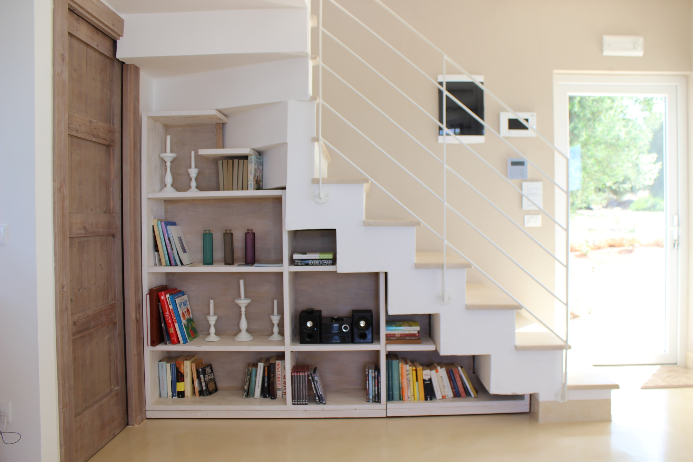 Under Stairs Bookcase Luxury Villa With Pool And Sea Views
