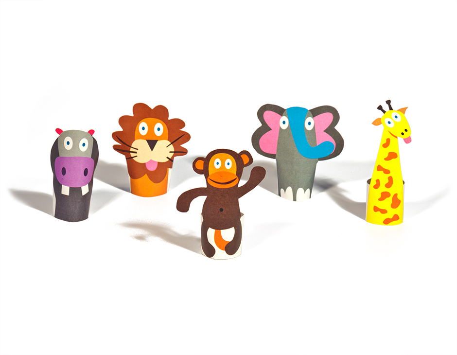 Animal Paper Crafts Templates Image Collections Origami