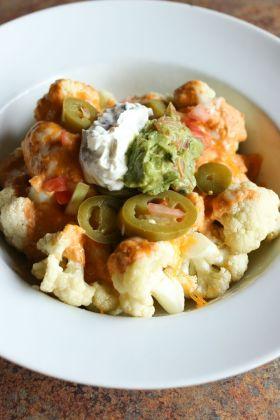Cauliflower Nachos photo courtesy of El Palacio