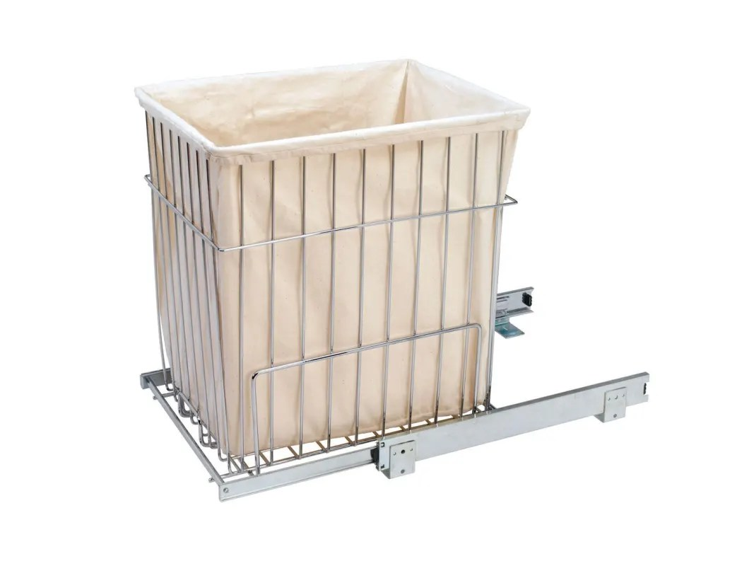 White Hamper With Liner Rev A Shelf Hrv 1520 Liner White Replacement Hamper Liner