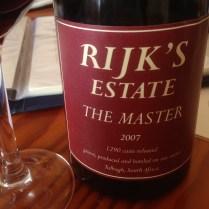 2007 Rijks Estate The Master